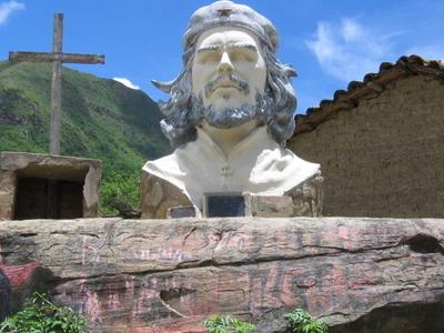 Che Guevara Statue La Higuera