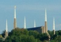 Joanesburgo África do Sul Templo