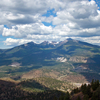 View Of The San Francisco Peaks From O'Leary Lookout