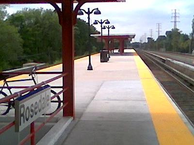 Rosedale LIRR Station