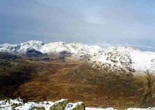 The Scafells From Grey Friar