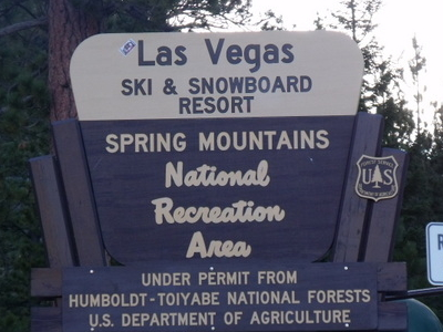 The Sign For The Resort