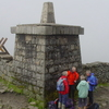 The Small Stone Tower At The Summit