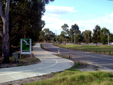The Southern Vehicle Entrance To Koomba Park