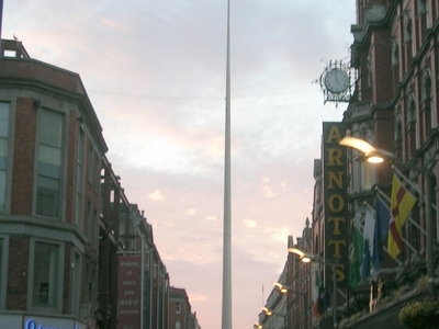 The Spire From Arnotts Department Store