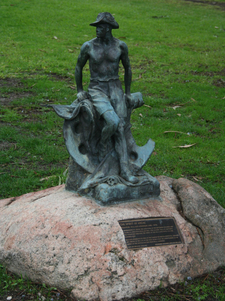 The Spirit Of Anzac Sculpture At Johnstone Park