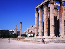 View Of Temple Of Olympian Zeus