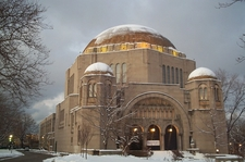 The Temple In Winter
