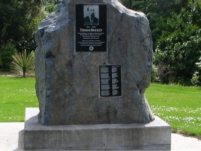 Thomas  Bracken Memorial  Dunedin  Northern  Cemetery