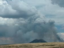 Three Buttes Landscape