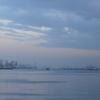 Tianjin Port Chuanzhadong At Dusk