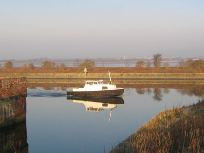 Tidal Dock At The End Of The Bridgewater