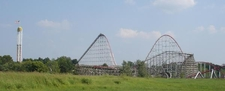Timber Wolf At Worlds Of Fun