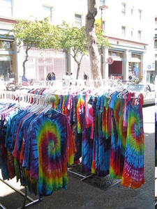 Tiedye T Shirt On Telegraph