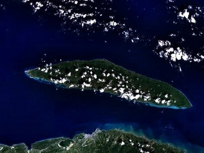 Tortuga Seen From Space