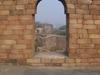 Trabeate  Arch In  New  Delhi  India
