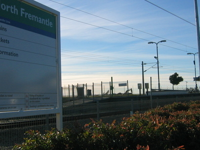 Transperth  North  Fremantle  Railway Station
