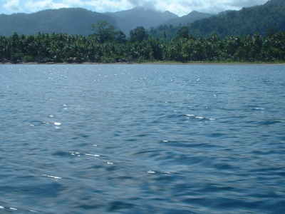 View From A Boat Towards Tulehu