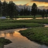Sunset Over Tuolumne Meadows