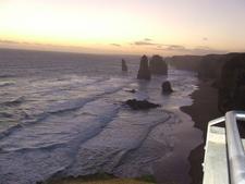 Tweltle Apostles Sunset