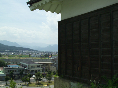 The City As Viewed From The West Turret Of Ueda Castle