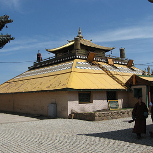 Ulaan Baatar - Gandan Monastery - Collection Of Buddhist Artifa