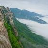 Ulsanbawi Rock At Seoraksan