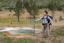 Uncertain Geyser - Yellowstone - USA