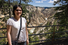 Uncle Tom's Trail View - Yellowstone - USA