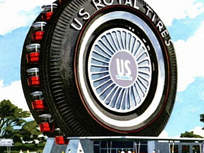 Uniroyal Giant Tire