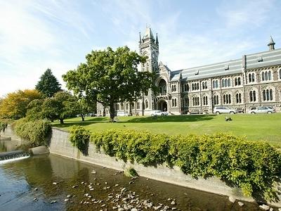 University Of Otago Campus @ Dunedin NZ