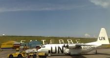 A Fly540 ATR 42 At Entebbe