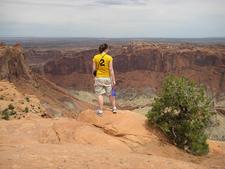 Upheaval Dome Overlook Trail - Canyonlands - Utah - USA