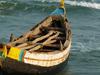 Uppada Beach Boat