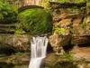 Upper Falls At Hocking Hills State Park - Ohio