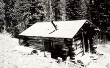 Upper Granite Canyon Patrol Cabin - Grand Teton - Wyoming - USA