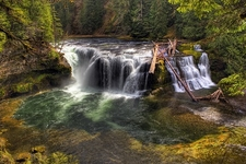 Upper Section Of Lower Lewis River Falls