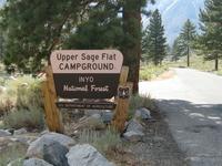Inyo Upper Sage Flat Campground