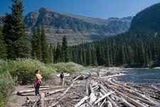 Upper Two Medicine Trail - Glacier - Montana - USA