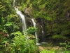 Upper Waikuni Falls Along Hana Highway