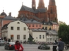 Uppsala With Its Cathedral