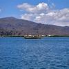 Uros Floating Island In Lake Titicaca - Lakeside Puno City Peru