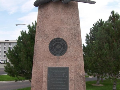 Usaaf Monument In West Wendover