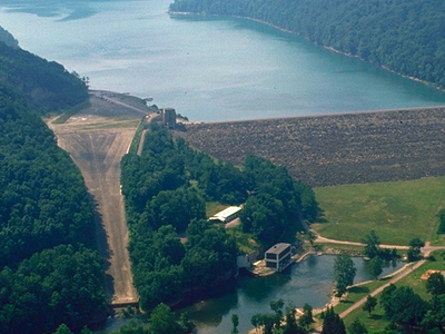 Youghiogheny Lake And Dam