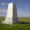 U.S. Army Memorial On Last Stand Hill