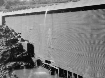 The Ashfork Bainbridge Steel Dam