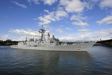 USS Ingraham Arrives At The Tom McCall Waterfront Park