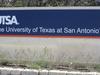 UTSA Entrance Sign