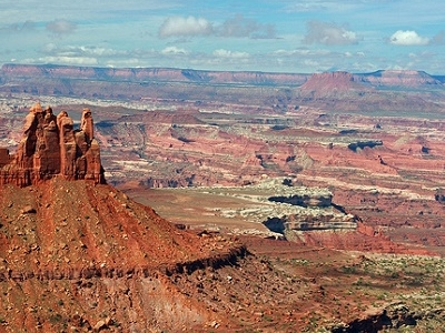 UT View Canyonlands NP Landscape