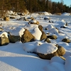 Uutela Seashore After Snowfall - Helsinki F